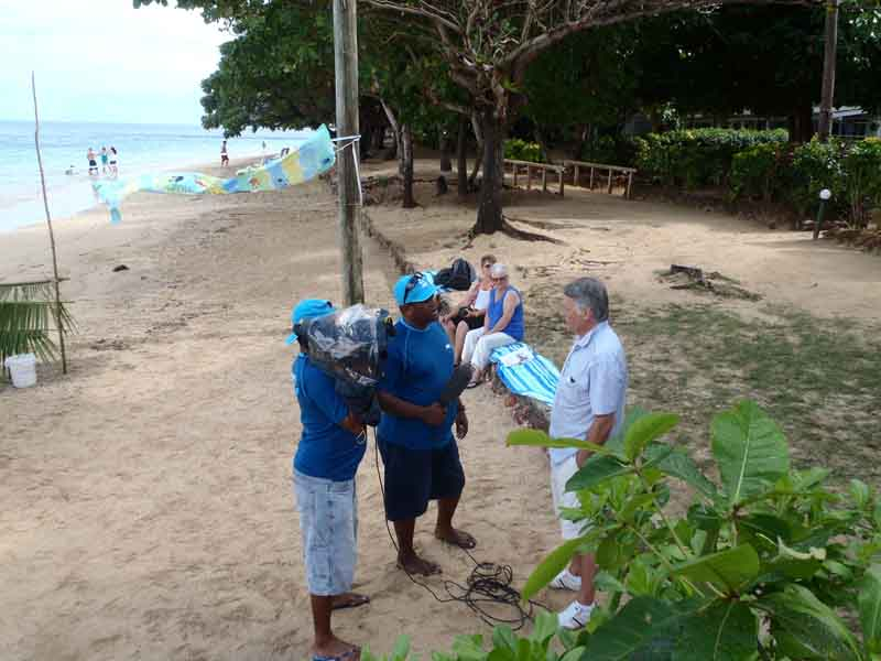 Malolo Island Resort ocean day campaign a success