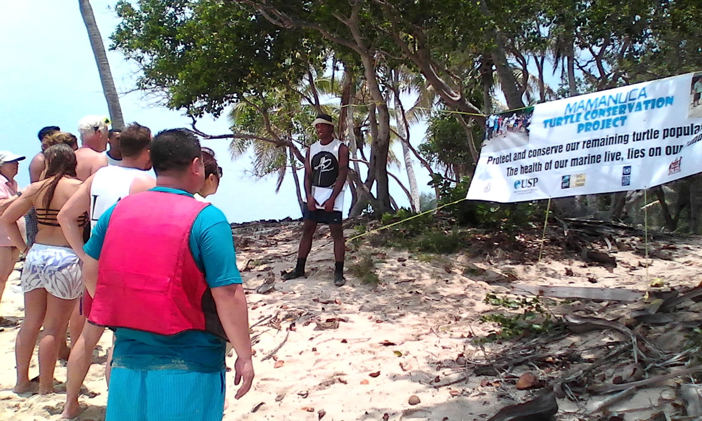 Turtle Nests And Awareness At Monuriki Island