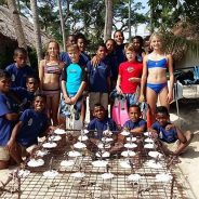 Castaway Island celebrates Ozone Day with Mamanuca Community School Children
