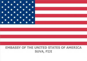 US Flag for Grantees Suva Embassy